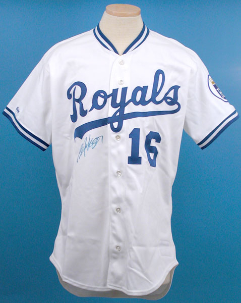 Lot Detail - Bo Jackson s 1989 Game Worn and Signed Kansas City ... 283041a07