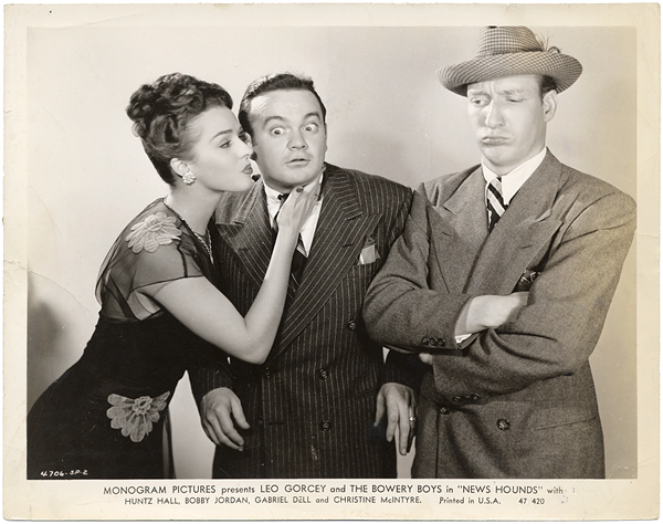 The Bowery Boys News Hounds Original Photograph Featuring Leo Gorcey and Huntz Hall