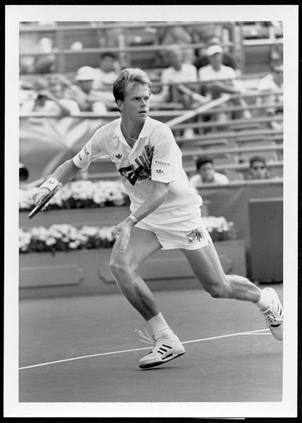 Stefan Edberg 1991 US Open Original Photograph