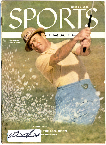 Sam Snead Signed SPORTS Magazine