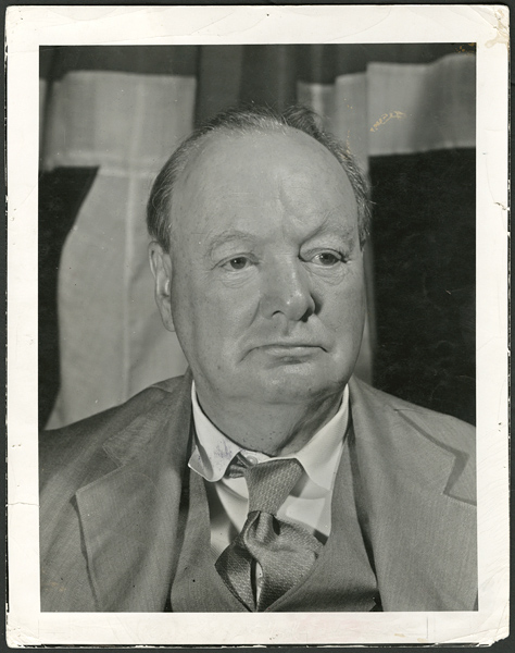 Winston Churchill Original Photograph