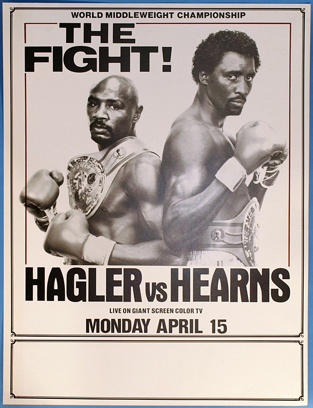 marvin hagler vs