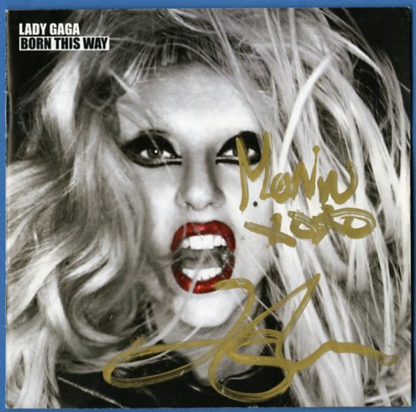 lady gaga autograph - photo #9
