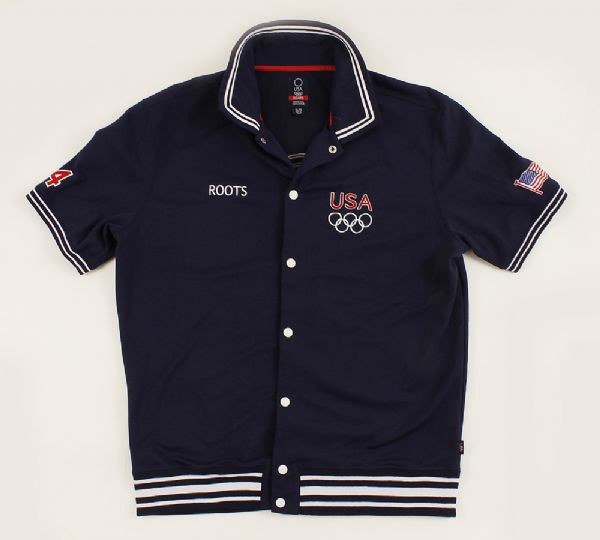 2004 Roots Official USA Olympic Participants Jacket