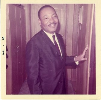 Dr. Martin Luther King Original Candid Snapshot Photograph