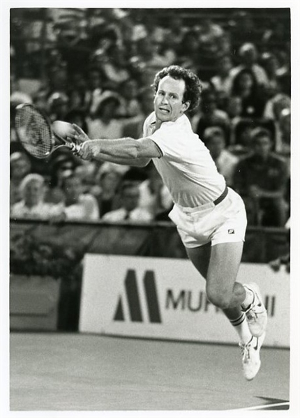 John McEnroe 1987 US Open Original Photograph