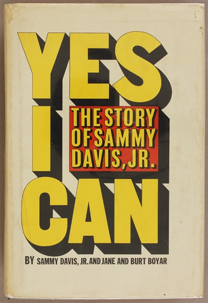 Sammy Davis Jr. Autobiography From Personal Library