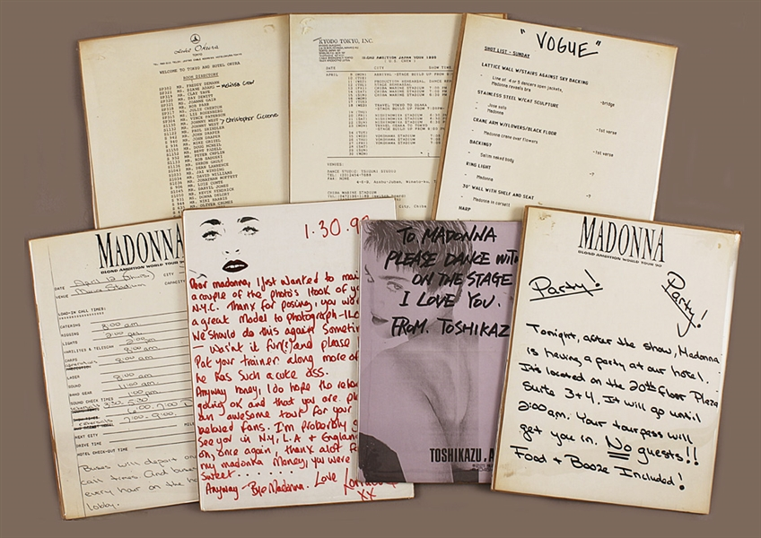 Madonna 1990 Blond Ambition Tour Archive (7)