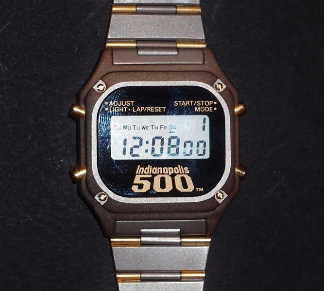 Mario Andretti Owned Indianapolis 500 Watch
