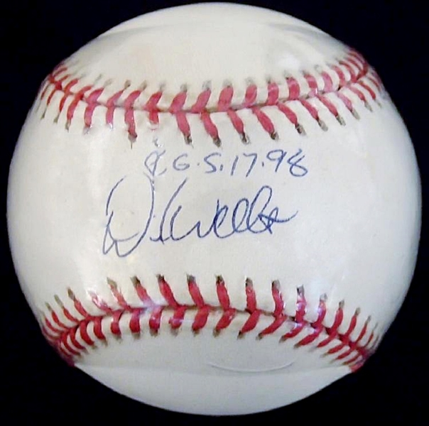 "David Wells Inscribed ""P.G. 5-17-98"" Official American League Baseball"