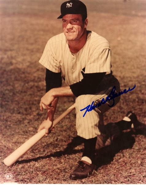 Hank Bauer Signed Photograph