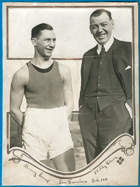 1919 Benny Leonard Unique Original Photograph