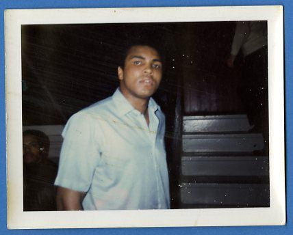 Muhammad Ali Vintage Signed Original Color Snapshot Photograph