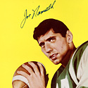 "Joe Namath Signed ""Rookie Card"" Limited Edition Lithograph"