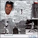 "Joe DiMaggio ""Yankee Clipper,"" Signed and Inscribed Limited Edition Career Lithograph"