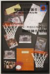 New York Knicks 1970, 73 Championship Basketball Court Presentation Shadowbox Display