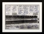 Oversize Yankee Stadium Photograph Signed by 78