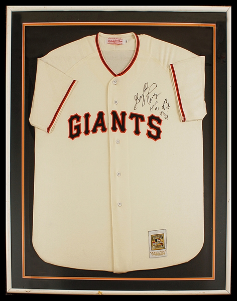 "Gaylord Perry Signed San Francisco Giants ""Flannel"" Jersey"